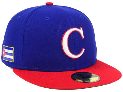 Cuba World Baseball Classic 59FIFTY Cap Hats