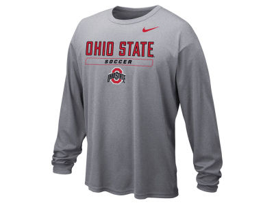 Nike NCAA Men's Soccer Dri-Fit Long Sleeve T-Shirt