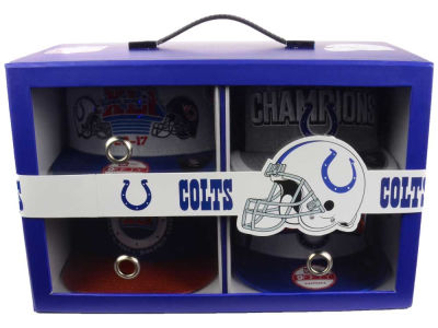 Indianapolis Colts Super Bowl XLI Celebration Headwear Box Set Hats