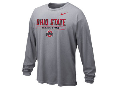Nike NCAA Men's Wrestling Dri-Fit Long Sleeve T-Shirt