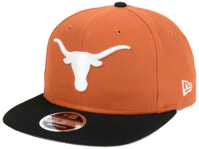 Texas Longhorns NCAA State Clip 9FIFTY Snapback Cap Hats