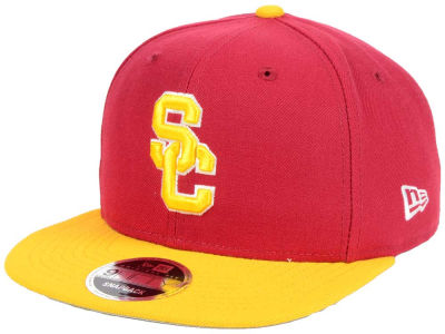 USC Trojans NCAA State Clip 9FIFTY Snapback Cap Hats