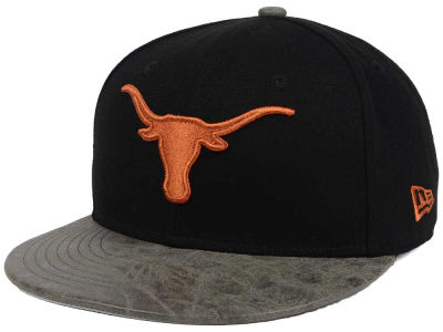 Texas Longhorns NCAA Rustic Vize 9FIFTY Snapback Cap Hats