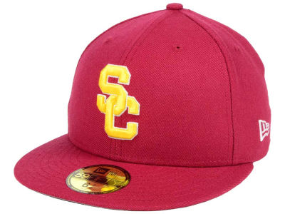 USC Trojans NCAA Classic Wool Fitted 59FIFTY Cap Hats