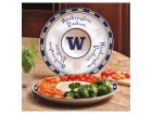 Washington Huskies Ceramic Chip & Dip Plate Kitchen & Bar