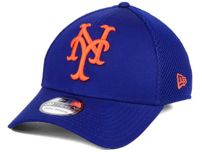 New York Mets MLB Mega Team Neo 39THIRTY Cap Hats