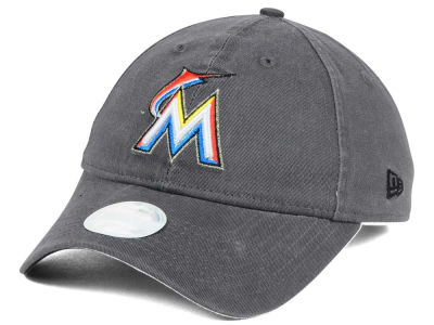 Miami Marlins MLB Women's Preferred Pick 9TWENTY Strapback Cap Hats
