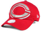 Cincinnati Reds New Era MLB Women's Glitter Glam 9FORTY Strapback Cap Adjustable Hats