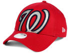 Washington Nationals New Era MLB Women's Glitter Glam 9FORTY Strapback Cap Adjustable Hats