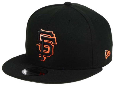San Francisco Giants MLB Color Dim 9FIFTY Snapback Cap Hats