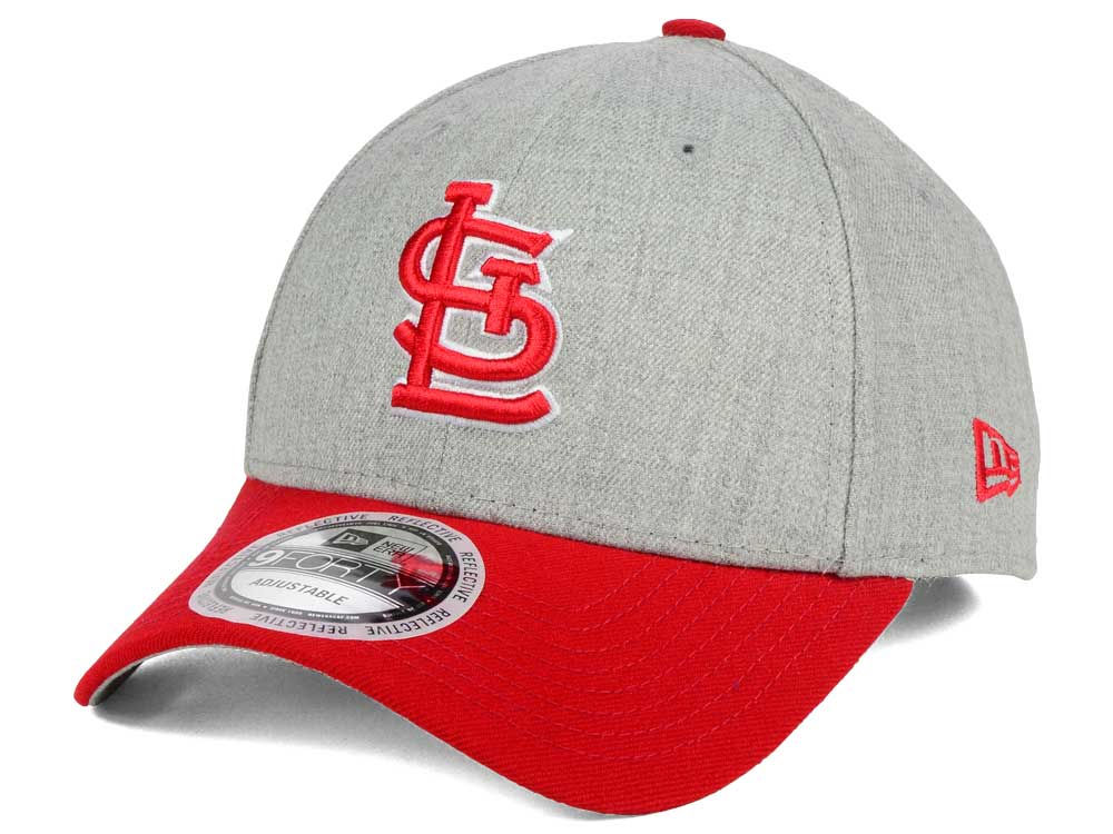 competitive price fc519 3e197 durable modeling St. Louis Cardinals MLB Heather Hit 9FORTY Cap