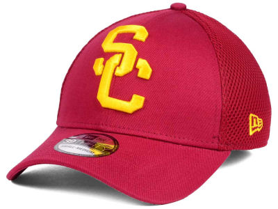 USC Trojans NCAA Mega Team Neo 39THIRTY Cap Hats
