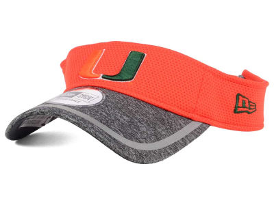 Miami Hurricanes NCAA Training Visor Hats