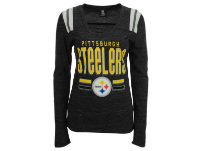 Pittsburgh Steelers NFL Women's Free Kick Long Sleeve T-Shirt