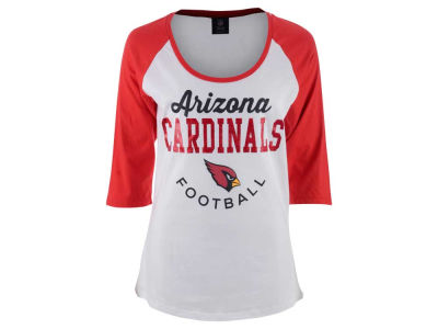 Arizona Cardinals NFL Women's Side Zone Raglan T-Shirt