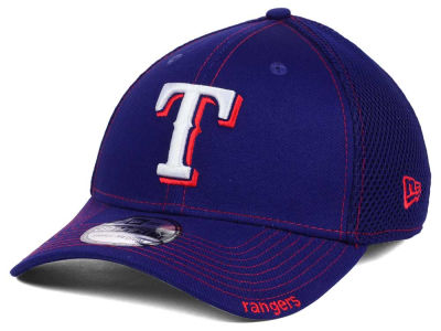 Texas Rangers MLB Core Neo 39THIRTY Cap Hats