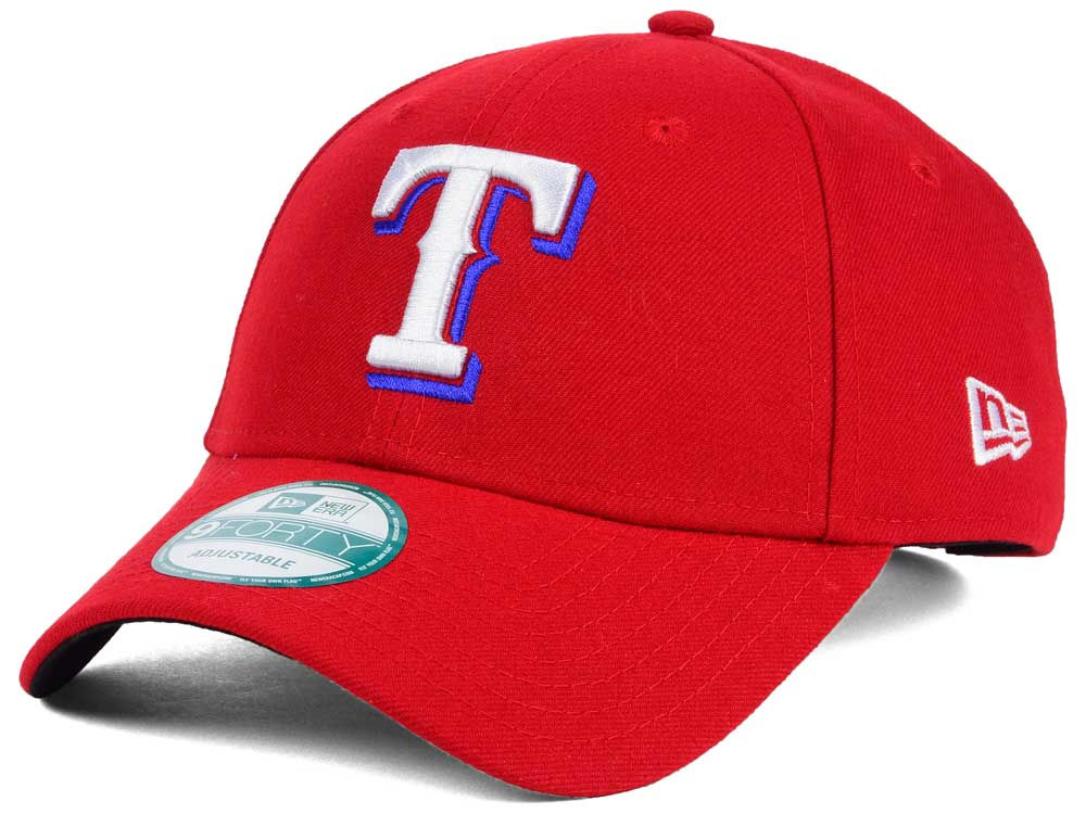 official photos d6dee e8d93 Texas Rangers New Era MLB The League 9FORTY Adjustable Cap hot sale 2017
