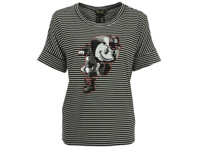 Gameday Couture NCAA Women's Running Brutus Striped Pocket T-Shirt