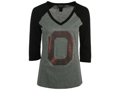 Gameday Couture NCAA Women's Athletic 3/4 Sleeve Raglan T-Shirt