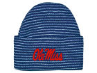 Ole Miss Rebels NCAA Newborn Stripe Knit Cap Infant Apparel