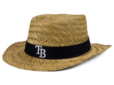 Tampa Bay Rays  47 MLB Natural Bogie Straw Hat  56d42dff552