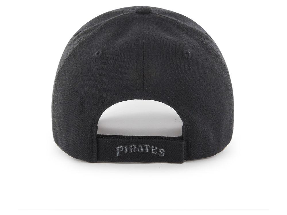 cheaper 2a781 c4ffe hot sale Pittsburgh Pirates  47 MLB  47 MVP Black and Charcoal Cap