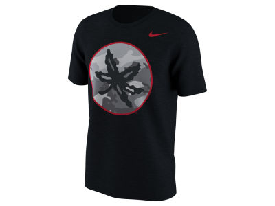 Nike NCAA Men's Project Fresh Camo Logo T-Shirt