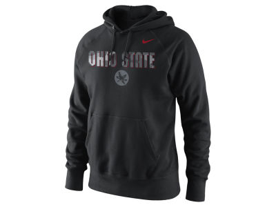 Nike NCAA Men's Project Fresh Camo Logo Hoodie