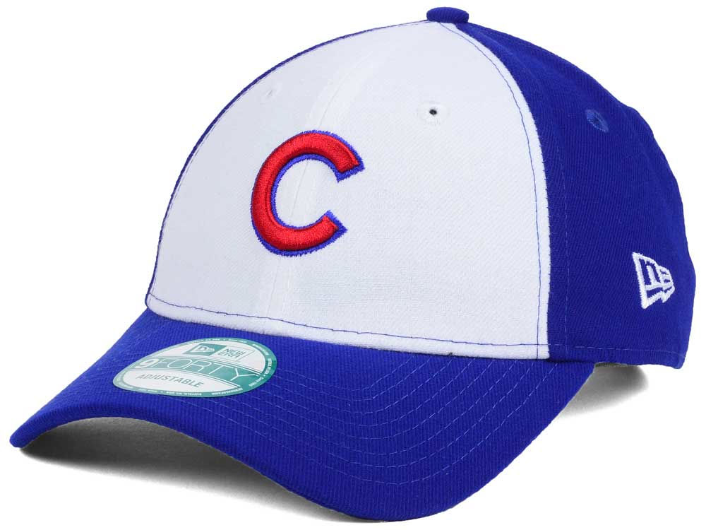 21f37f9884ea3 85%OFF Chicago Cubs New Era MLB White Front 9FORTY Cap - funani.co.za