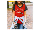 Ohio State Buckeyes Gameday Couture NCAA Women's Herringbone T-Shirt T-Shirts