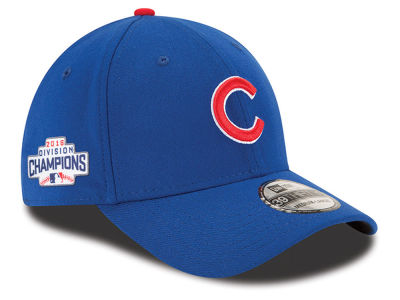 Chicago Cubs MLB 2016 Division Champ Side Patch 39THIRTY Cap Hats