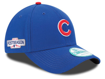 Chicago Cubs MLB 2016 Post Season Patch 9FORTY Cap Hats