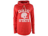 NCAA Women's Retro Vintage Football Helmet Funnel Hoodie Hoodies