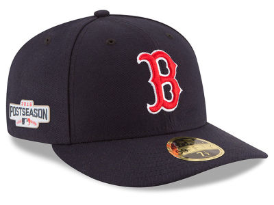 Boston Red Sox MLB 2016 Post Season Authentic Collection Patch 59FIFTY Cap Hats