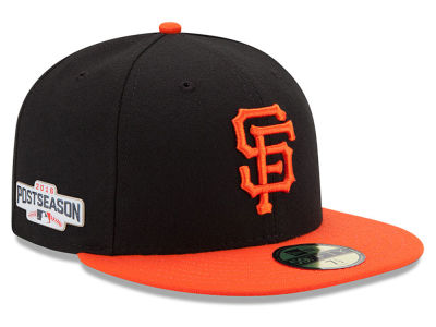 San Francisco Giants MLB 2016 Post Season Authentic Collection Patch 59FIFTY Cap Hats
