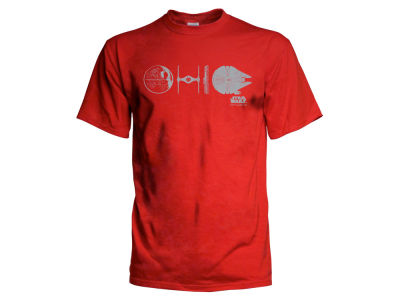 J America NCAA Men's Star Wars O-H-I-O T-Shirt