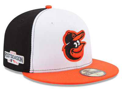 Baltimore Orioles MLB 2016 Post Season Authentic Collection Patch 59FIFTY Cap Hats