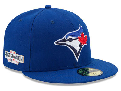 Toronto Blue Jays MLB 2016 Post Season Authentic Collection Patch 59FIFTY Cap Hats