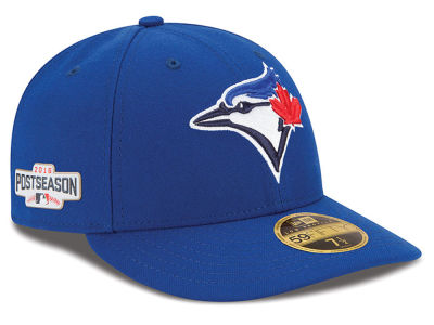 Toronto Blue Jays Low Profile MLB 2016 Post Season Authentic Collection Patch 59FIFTY Cap Hats