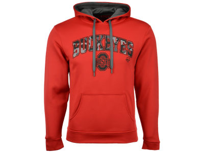 J America NCAA Men's Official Camo Buckeyes Hooded Sweatshirt