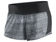 Nike NCAA Women's Printed Crew Shorts