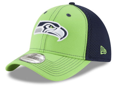 Seattle Seahawks NFL TC Front Neo 39THIRTY Cap Hats