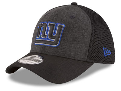 New York Giants NFL Black Heather Neo 39THIRTY Cap Hats
