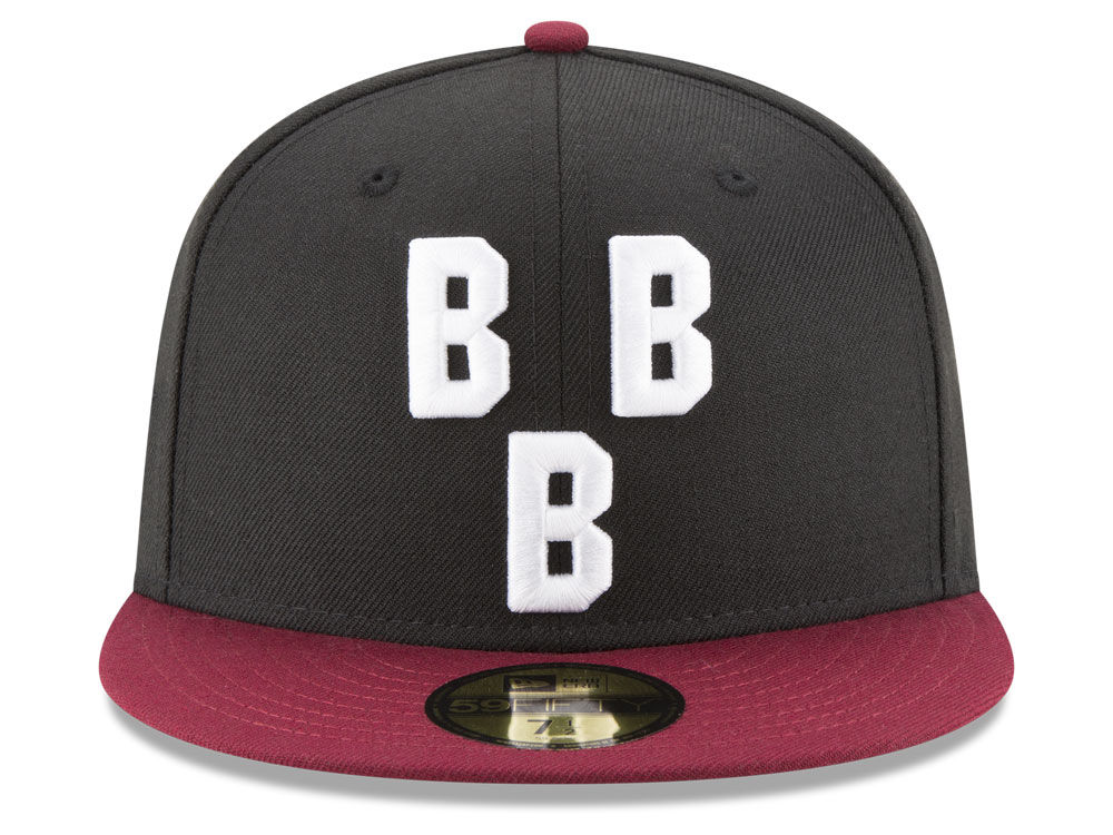 e7c3033db7d77 50%OFF Birmingham Black Barons New Era Negro League Patch Collection  59FIFTY Cap
