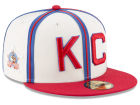 Kansas City Monarchs New Era Negro League Patch Collection 59FIFTY Cap Fitted Hats
