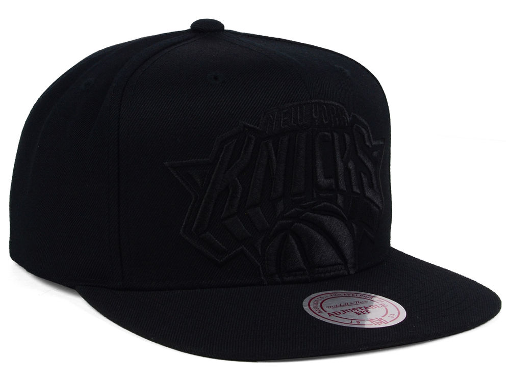 competitive price 17cb5 8b488 ... canada new york knicks mitchell and ness nba cropped xl logo snapback  cap hot sale 2017