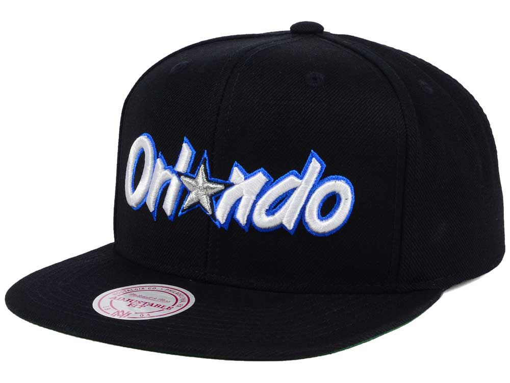 timeless design 18f55 1f448 on sale Orlando Magic Mitchell and Ness NBA Hardwood Classic Basic Logo  Snapback Cap