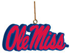 Ole Miss Rebels 3D Logo Ornament Holiday