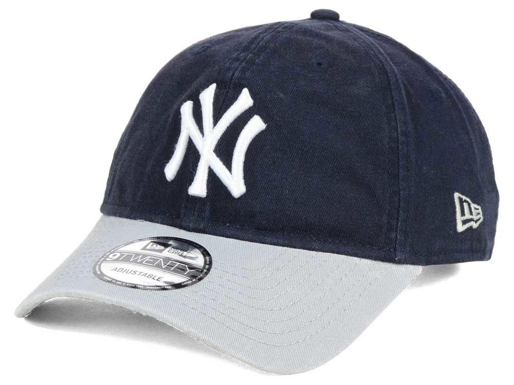 213063ed90 hot sale New York Yankees New Era MLB Relaxed 2Tone 9TWENTY Strapback Cap