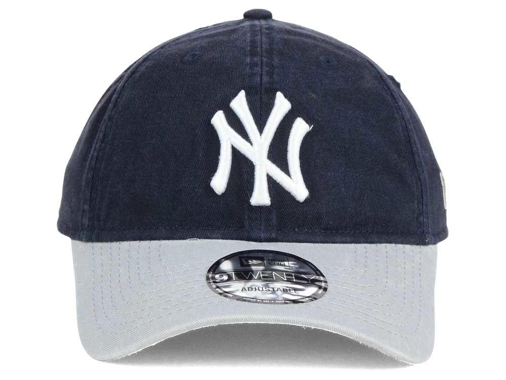 4e4fd77af57 hot sale New York Yankees New Era MLB Relaxed 2Tone 9TWENTY Strapback Cap